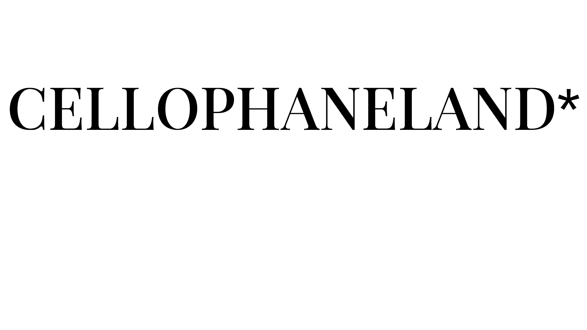 CELLOPHANELAND Logo