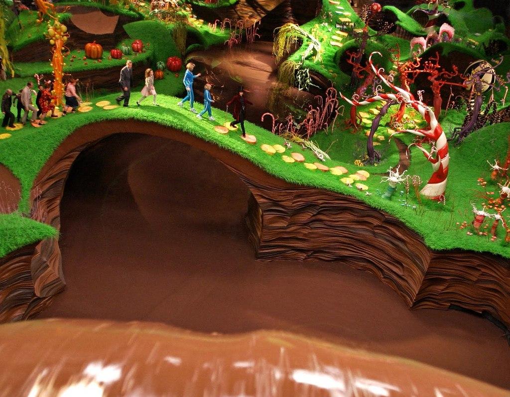 Choco-Story at the Chocolate Museum - Bruges, Belgium