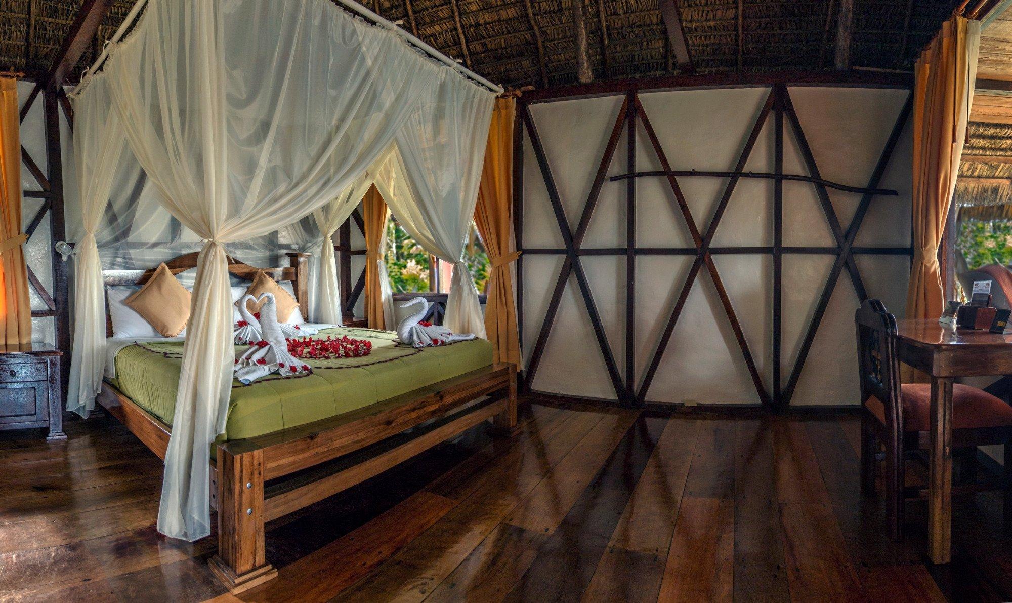 Napo Lodge Interior