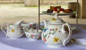 Garden Tour & Wedding Celebration Champagne Tea at Highgrove