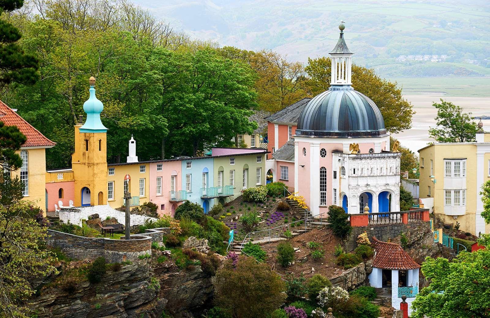 Portmeirion Village & Hotel, Gwynedd, North Wales