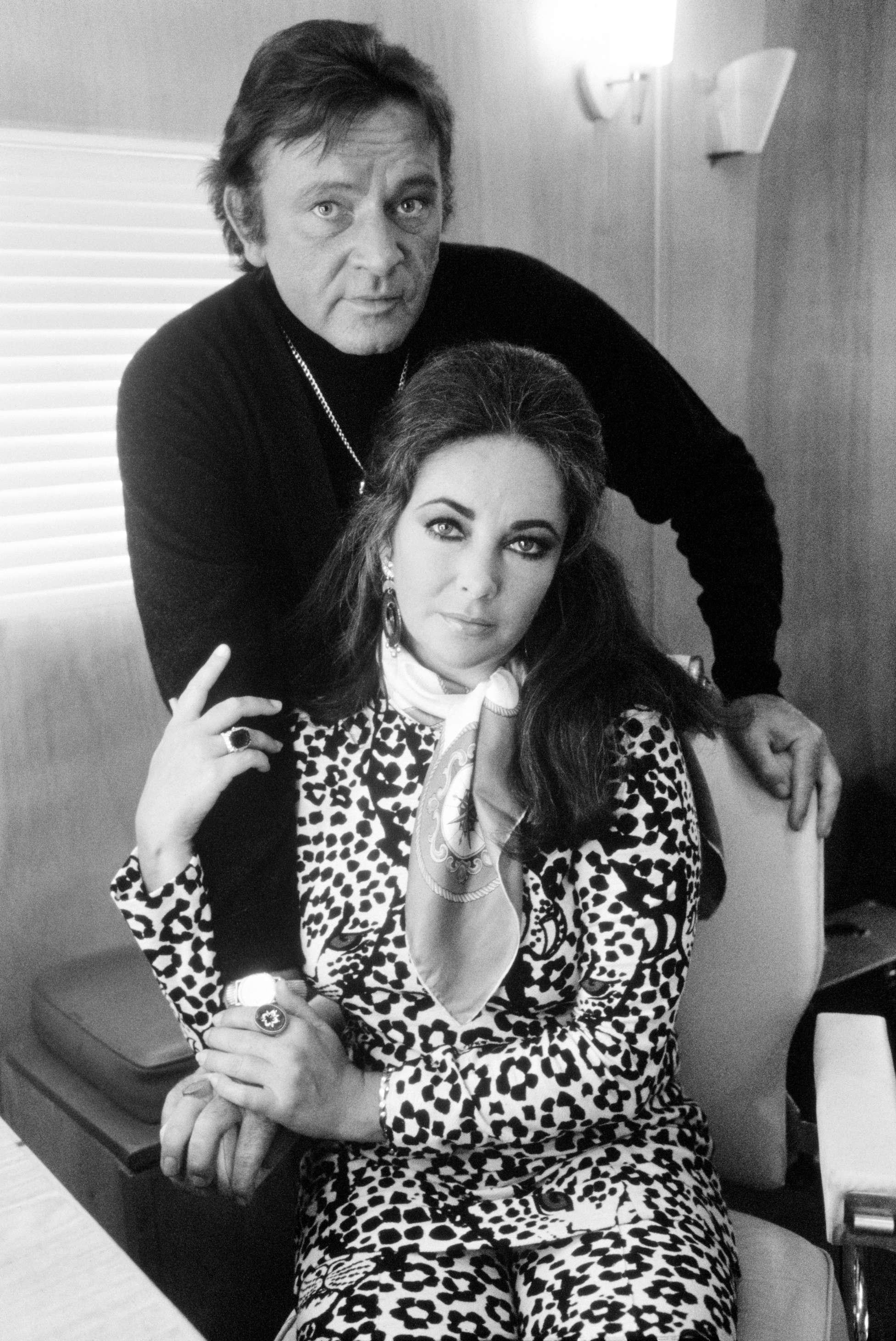 Richard Burton & Liz Taylor