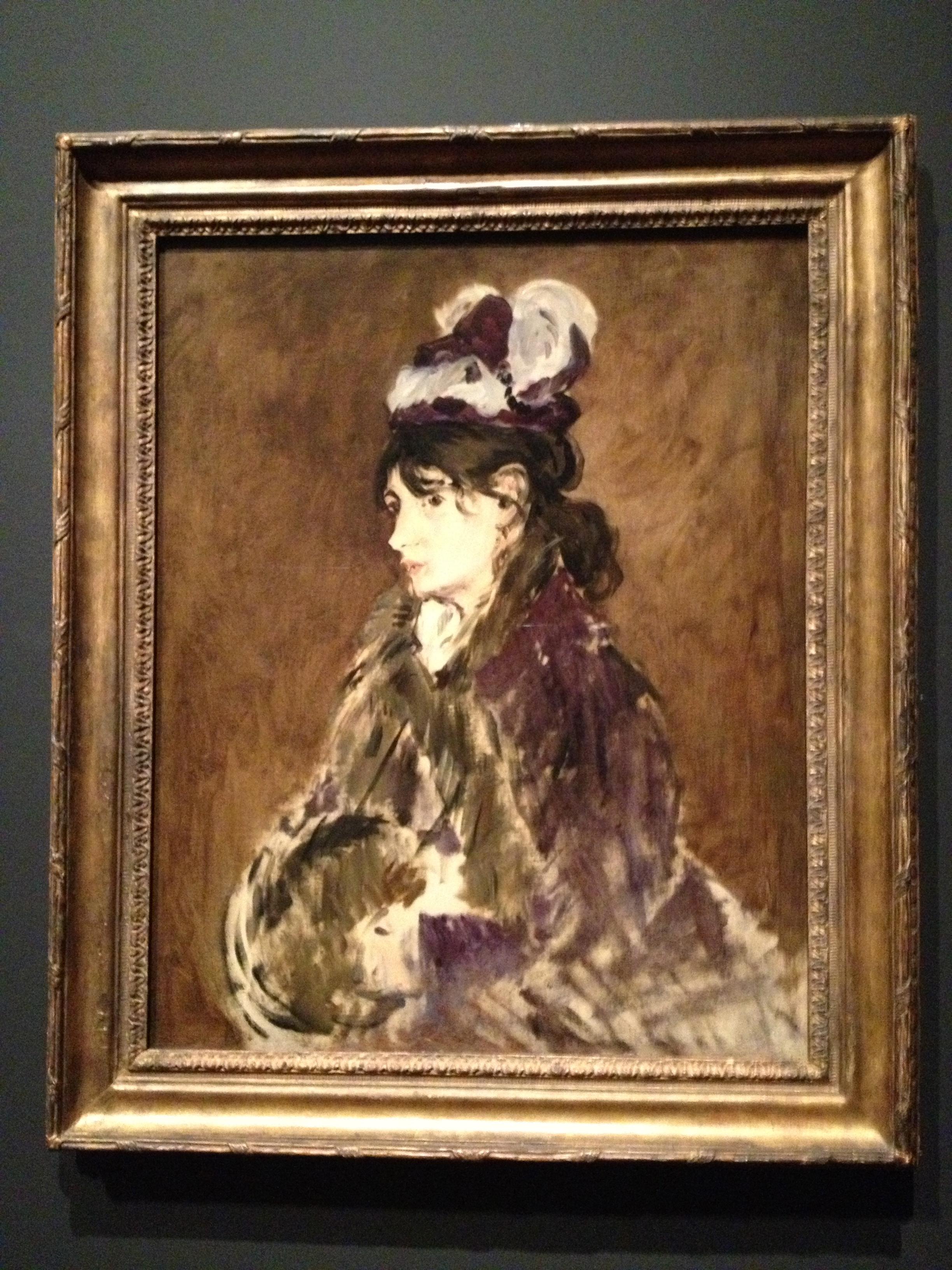 Berthe Morisot, 1868-69, 1870-71, Oil on fabric. Cleveland Museum of Art