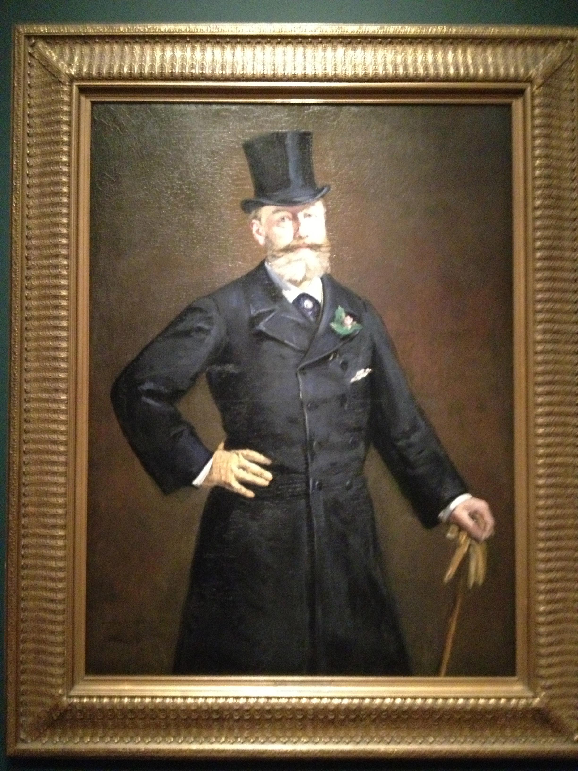 Portrait of M. Antonin Proust, 1880. Lent by the Toledo Museum of Art.
