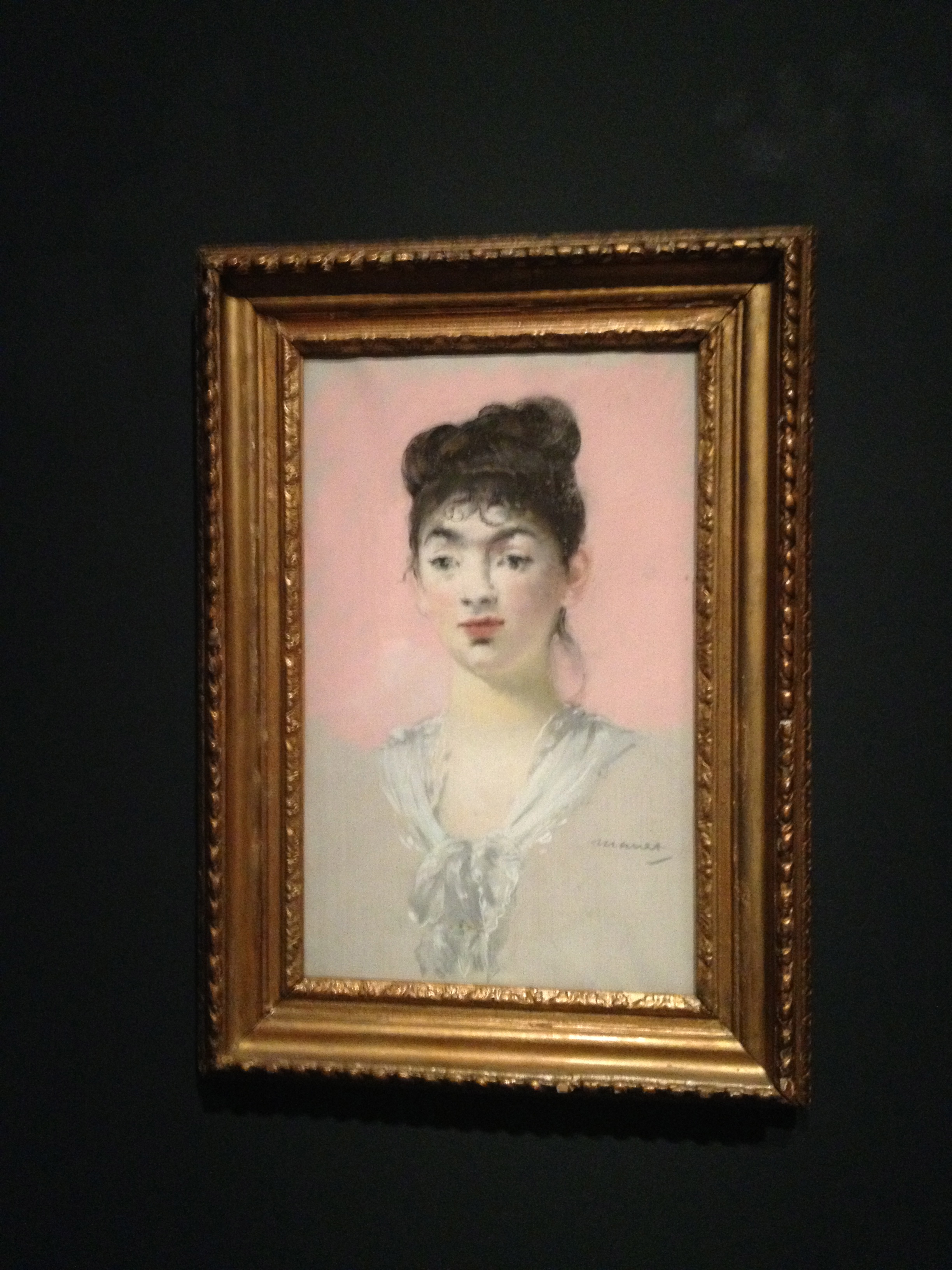 Mlle Suzette Lemaire- Full Face, 1880/81. Private collection. On long term loan to the Ashmolean Museum, Oxford.