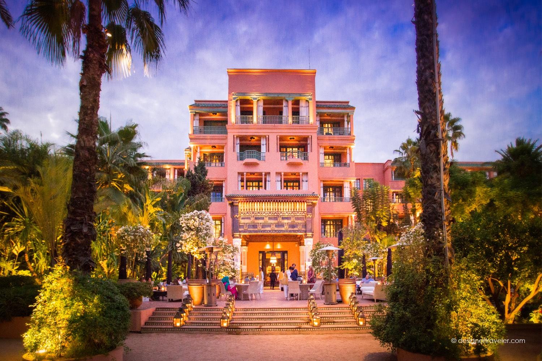Le Marocain at La Mamounia Hotel - Marrakech, Morocco