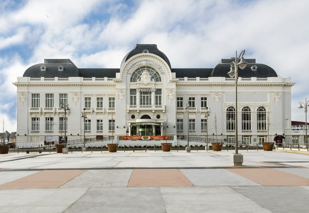 The Real Casino Royale - Deauville-Trouville, Normandy, France