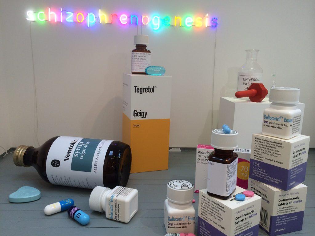 Damien Hirst Schizphrenogenesis