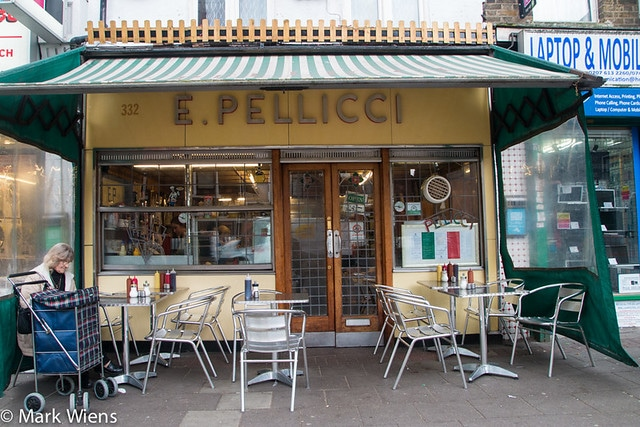 E Pellicci Cafe - Bethnal Green, London