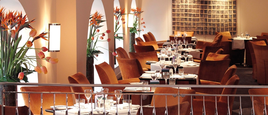 One Aldwych Indigo restaurant