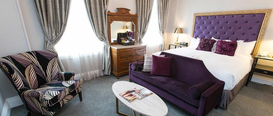 luxe-king-room-Culver Hotel Los Angeles