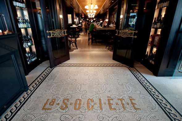 La Societe Bistro Montreal Loews Hotel Vogue http://www.cellophaneland.com