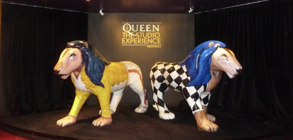 Queen The Studio Experience, Montreux Casino, Switzerland, Cellophaneland