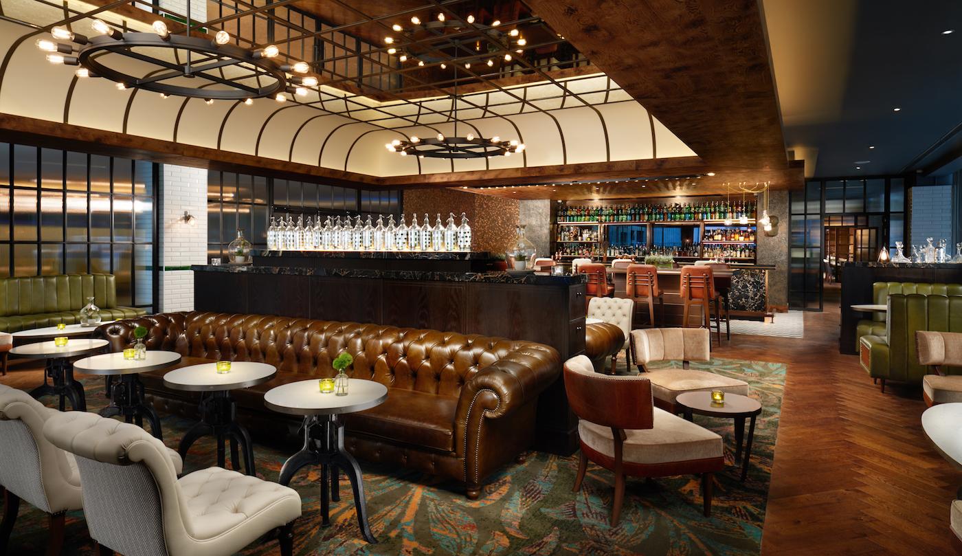 Hilton London Bankside Hotel The Distillery Bar