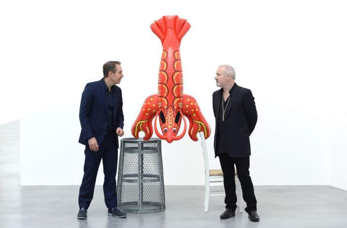 Jeff Koons Now at Newport Street Gallery Damien Hirst