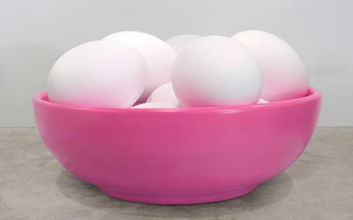 Jeff Koons Now at Newport Street Gallery Damien Hirst Bowl