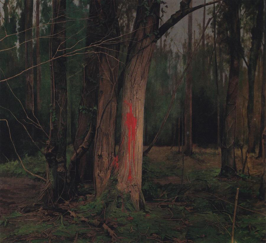 George Shaw My Back To Nature National Gallery-every-brush-stroke-is-torn-out-of-my-body