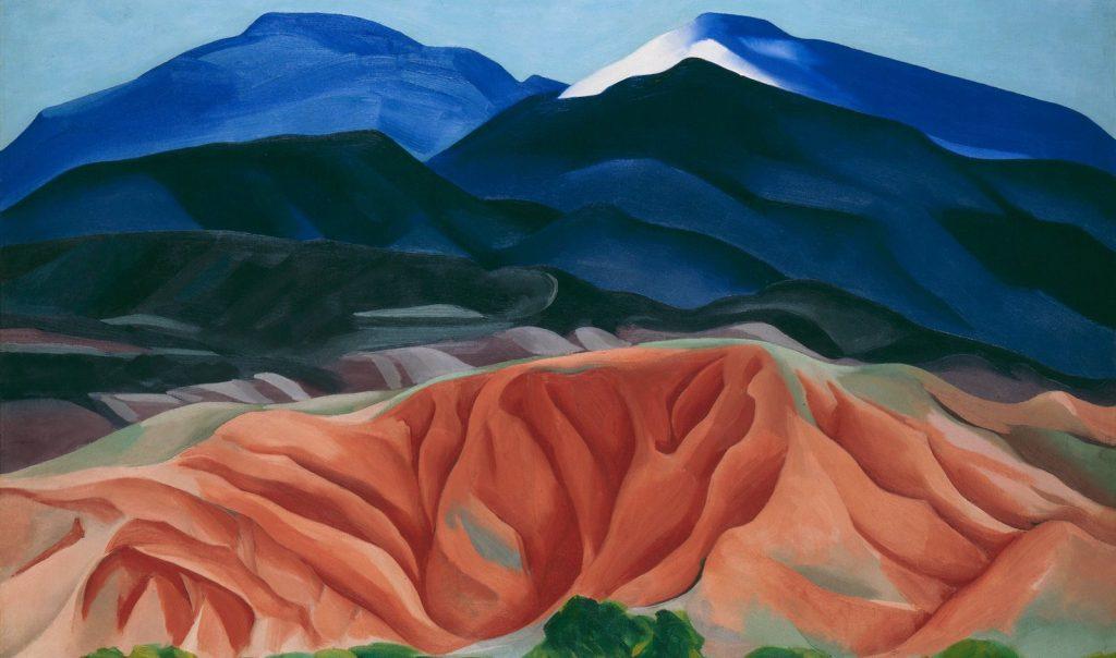 Georgia O'Keeffe Tate Modern review at www.cellophaneland.com