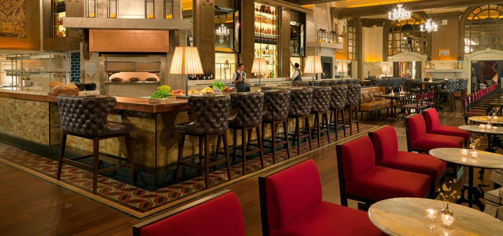 Fairmont Copley Plaza Oak Bar Brasserie