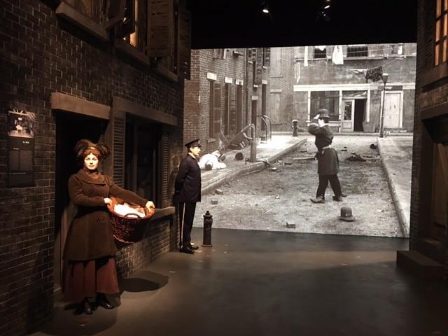 Chaplin's World Vevey street scene