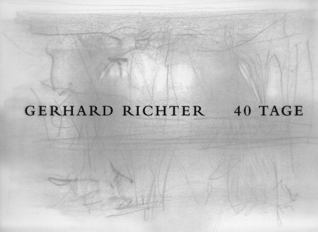 Gerhard Richter 40 Tage Heni Publishing
