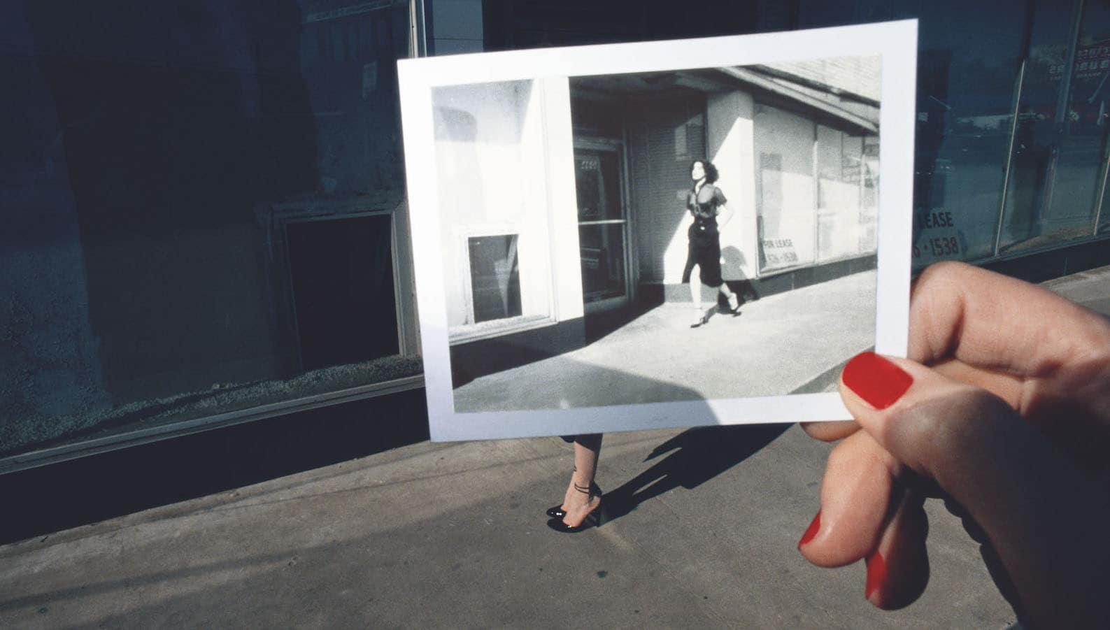 Guy Bourdin, Charles Jourdan, 1978, Polaroid Project