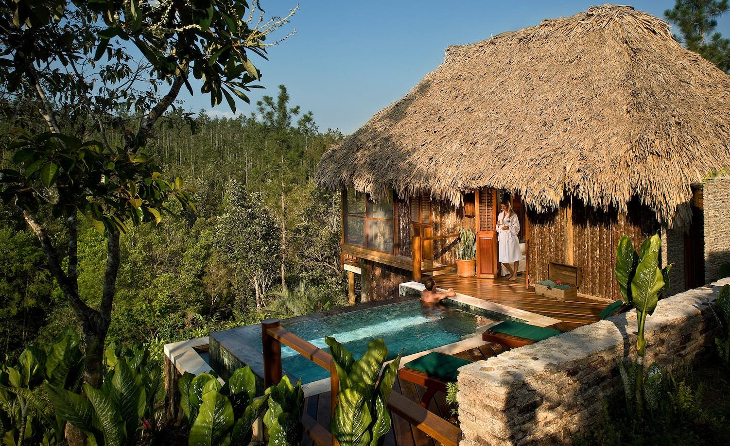 Francis Ford Coppola Family Hideaways Blancaneaux Lodge Belize