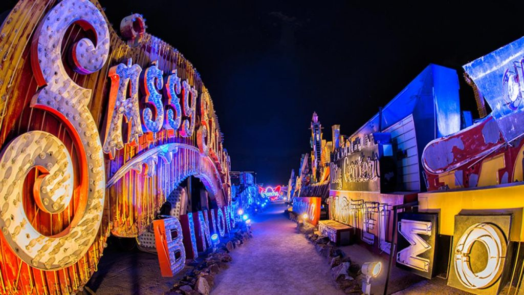 The Neon Museum in Las Vegas