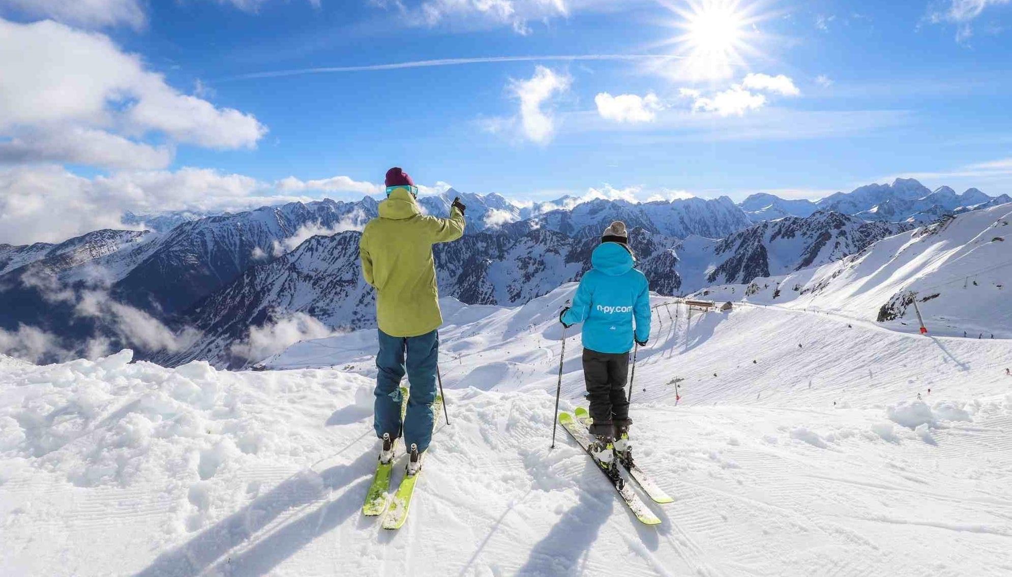 Cauterets ski pyrenees