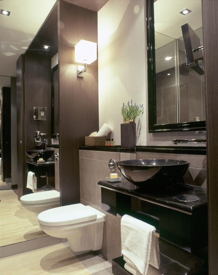 Dominican Hotel Brussels Belgium Bedroom Bathroom