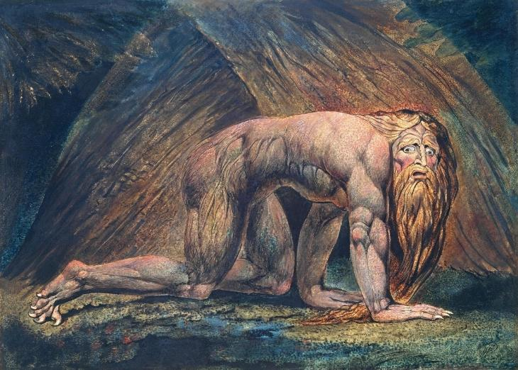 William Blake Tate Britain Nebuchadnezzar