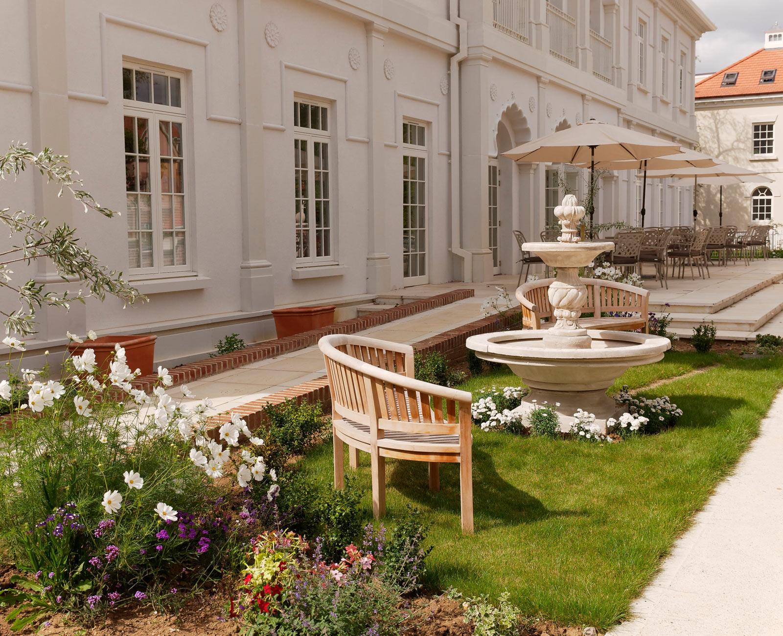 Maharishi Peace Palace Terrace
