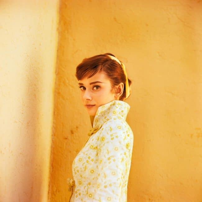Audrey Hepburn Terry O'Neill