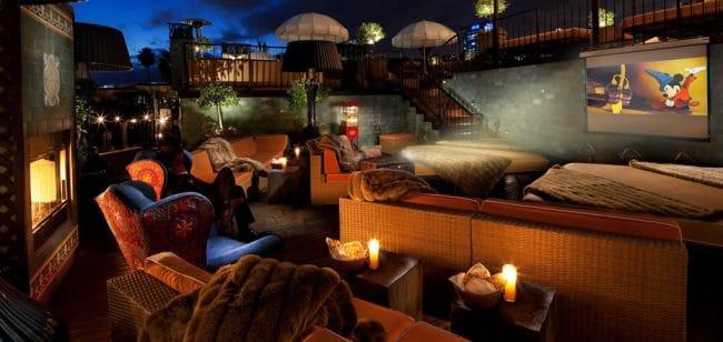 Petit Ermitage Hollywood California