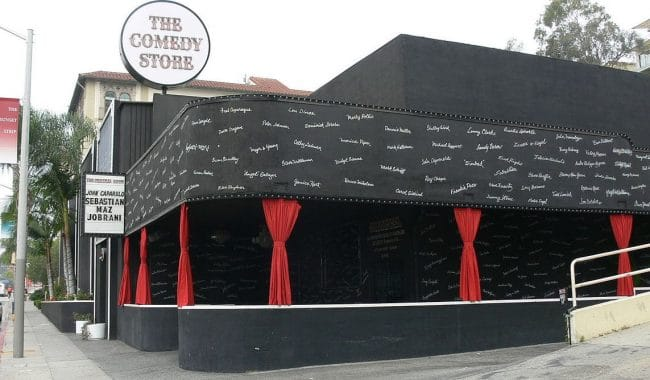 Sunset Blvd Hollywood The_Comedy_Store