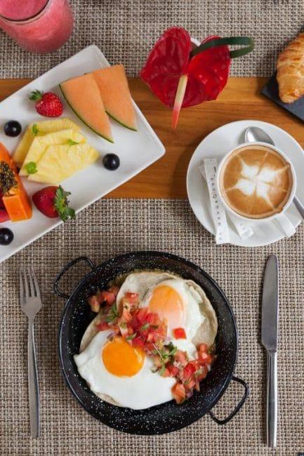 Breakfast at Makoko Costa Rica Cellophaneland Hotel Review