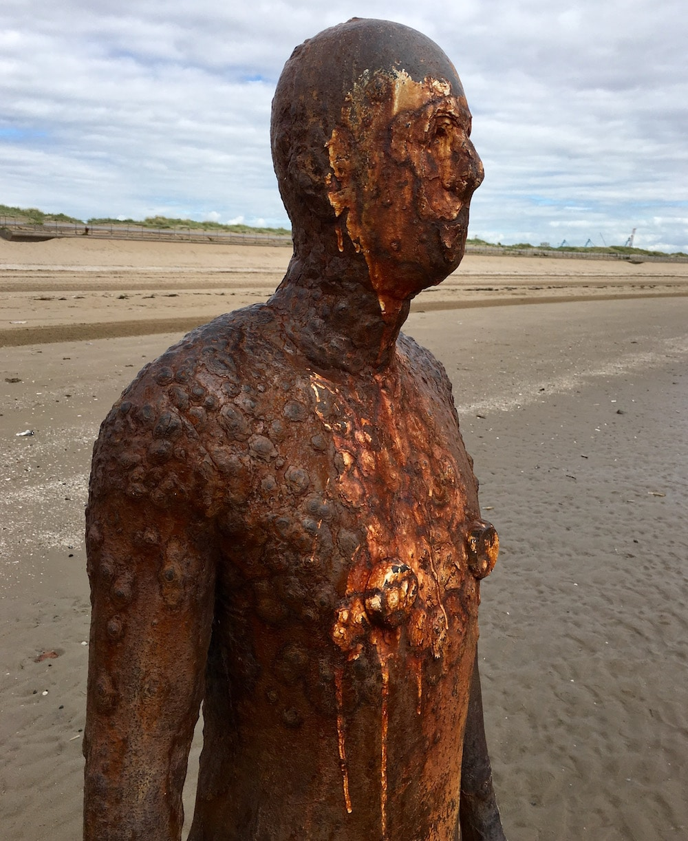 Crosby Beach Another Place Antony Gormley Liverpool Biennial 2016
