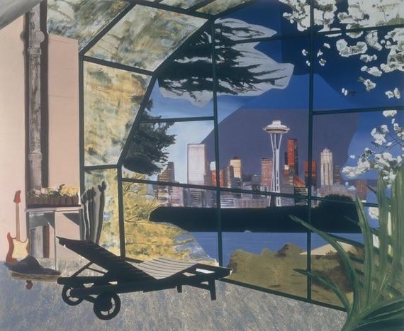 Dexter Dalwood Saatchi Gallery Painters Painters