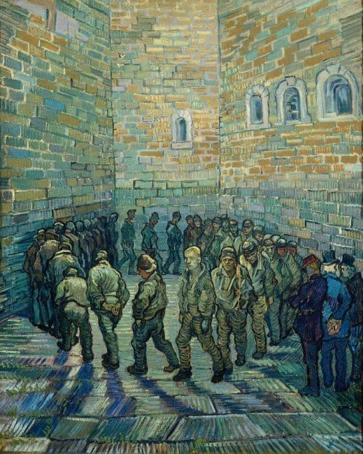 Vincent Van Gogh and Britain Tate Britain, London Prisoners Exercising