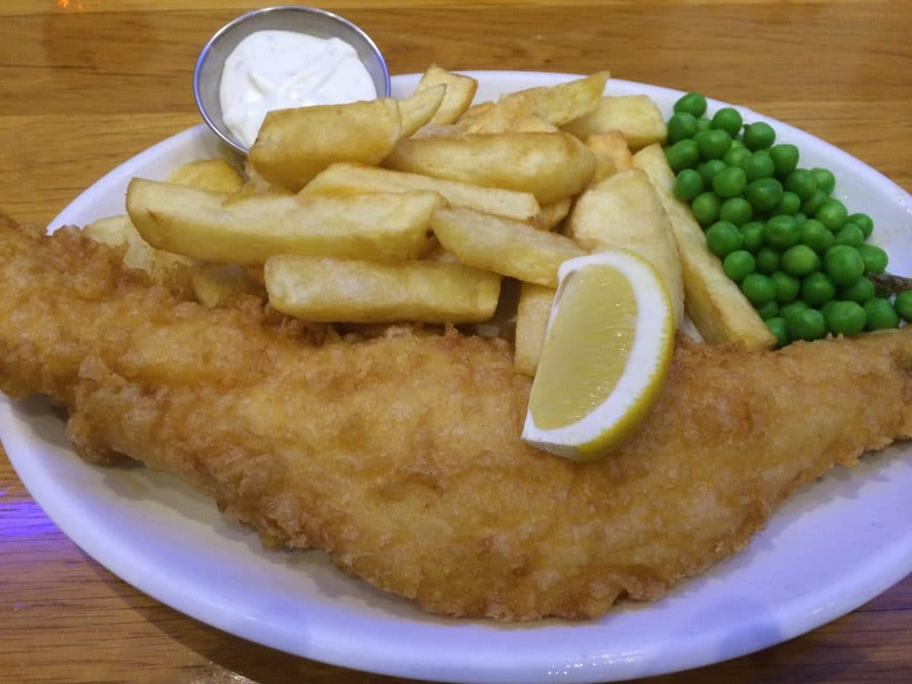 Seafresh Fish & Chips restaurant, Pimlico, London