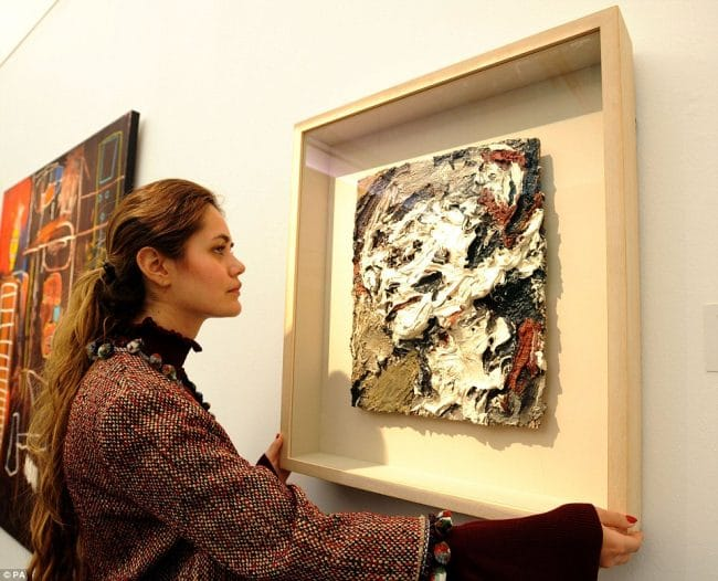Frank Auerbach Head of Gerda Bohm David Bowie Collector Sotheby's London
