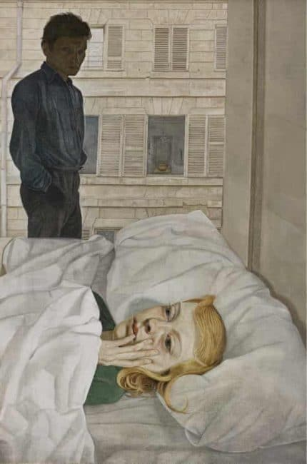 Lucian Freud Self Portraits at The Royal Academy a Cellophaneland Review
