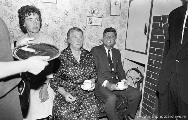 John F Kennedy in Wexford