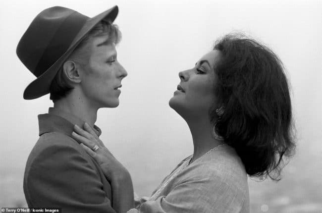 Terry O'Neill Rare & Unseen David Bowie Elizabeth Taylor