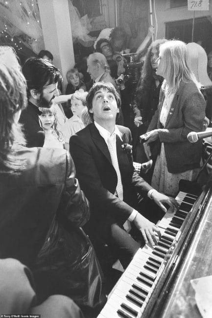 Terry O'Neill Rare and Unseen Paul McCartney