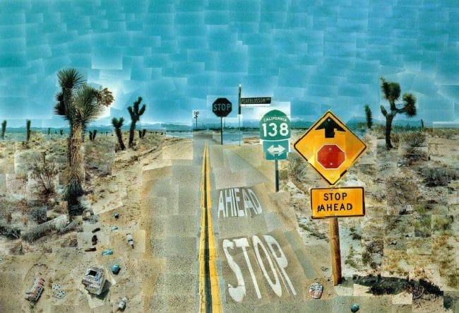 David Hockney Tate Britain Pearblossom Highway