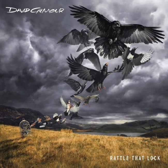 Dave Gilmour Rattle that Lock Art Vinyl & Belgraves Hotel Best Art Vinyl 2015