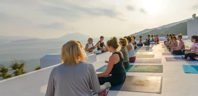 yoga aegialis-hotel-and-spa-aegean-greece Amorgos