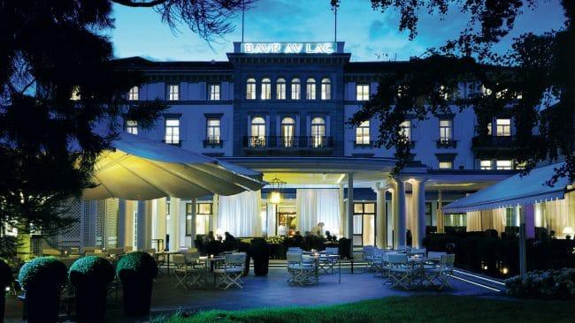 Bar au Lac Zurich Switzerland