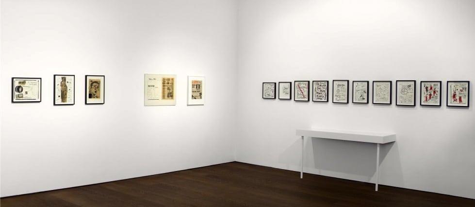 Derek Boshier Rething/Re-wind at Flowers Gallery London